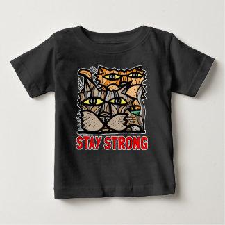 """Stay Strong"" BuddaKats Baby T-Shirt"