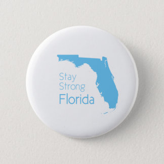 Stay strong Florida after hurricane Irma 6 Cm Round Badge