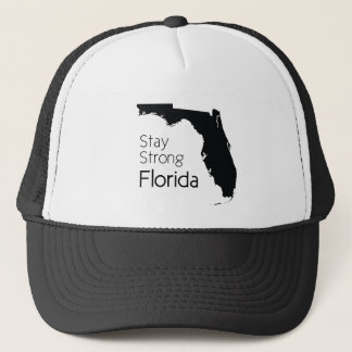 Stay strong Florida after hurricane Irma Trucker Hat
