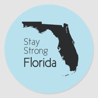 Stay Strong Florida Classic Round Sticker