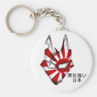 Stay Strong Japan Basic Round Button Key Ring