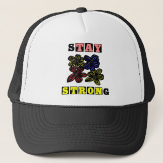 """""""Stay Strong"""" Trucker Hat"""