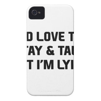 Stay & Talk iPhone 4 Cover