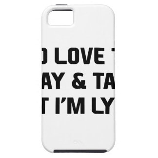 Stay & Talk Tough iPhone 5 Case
