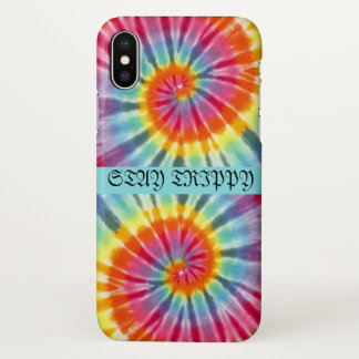 Stay trippy iPhone x case