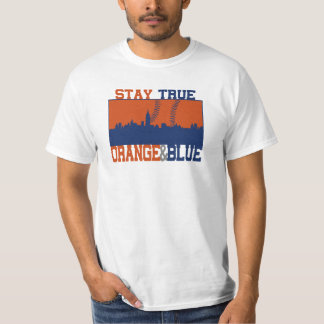 Stay True Orange & Blue T-Shirt