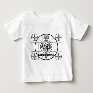 Stay Tuned with Indain Head Test Pattern Baby T-Shirt