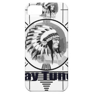 Stay Tuned with Indain Head Test Pattern iPhone 5 Cover