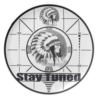 Stay Tuned with Indain Head Test Pattern Plate