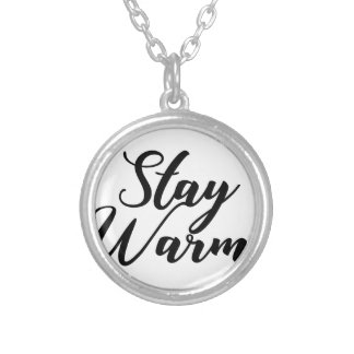 Stay-Warm Silver Plated Necklace