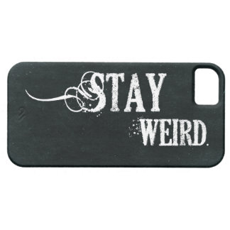 Stay Weird Barely There iPhone 5 Case