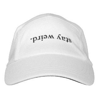 STAY WEIRD HAT