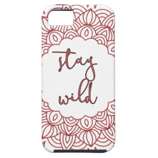 Stay Wild Boho Gypsy Design Case For The iPhone 5