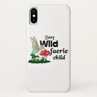 Stay Wild Faerie Child Phone Case