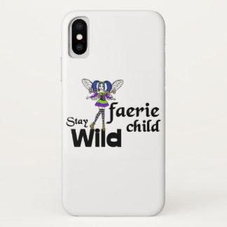 Stay Wild Faerie Child Steampunk Phone Case