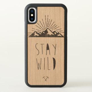 Stay wild iPhone x case