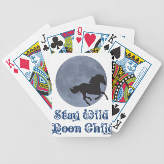Stay Wild Moon Child Bicycle Playing Cards