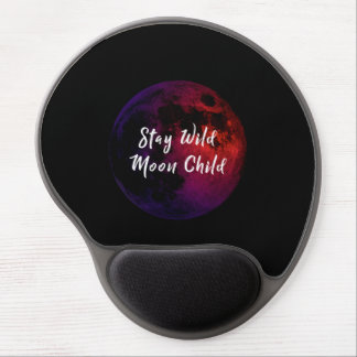 Stay Wild Moon Child Gel Mouse Pad