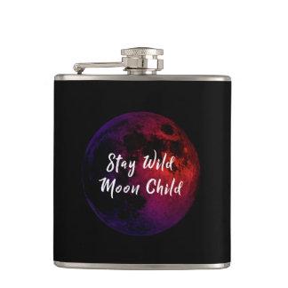 Stay Wild Moon Child Hip Flask