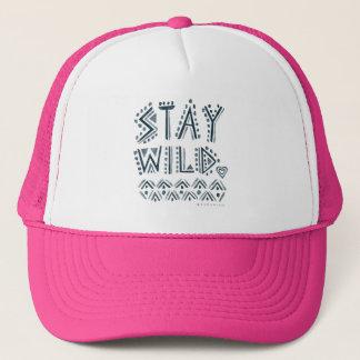 STAY WILD TRUCKER HAT