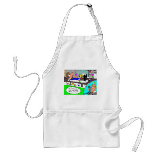 Staying Afloat In Economy Funny Gifts & Collectibl Standard Apron