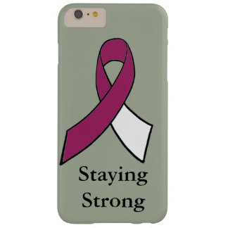 Staying Strong Throat, Head or Neck Cancer Case Barely There iPhone 6 Plus Case