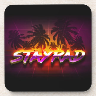 StayRad 80s Coaster