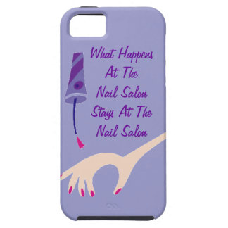 Stays Nail Salon iPhone 5/5S Cover