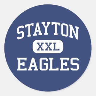 Stayton - Eagles - High School - Stayton Oregon Sticker