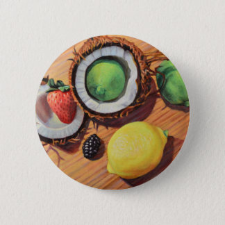 StBerry Lime Lemon Coconut Unity 6 Cm Round Badge