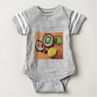 StBerry Lime Lemon Coconut Unity Baby Bodysuit