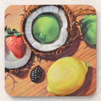 StBerry Lime Lemon Coconut Unity Coaster