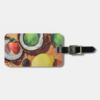StBerry Lime Lemon Coconut Unity Luggage Tag