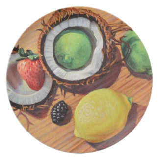StBerry Lime Lemon Coconut Unity Plate