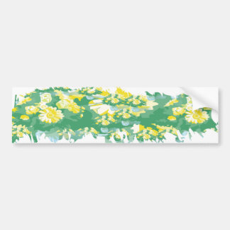 STBX Floral Collection  -  All decoration purpose Bumper Sticker