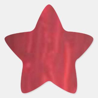 STBX Rosenberg Sparkling Red Rouge Collection Star Sticker