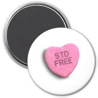 STD FREE CANDY -.png Refrigerator Magnet