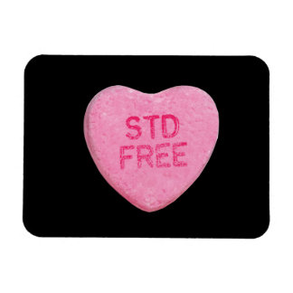 STD FREE - .png Rectangular Magnets
