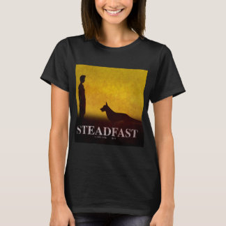 Steadfast: A Dog And Boy T-Shirt