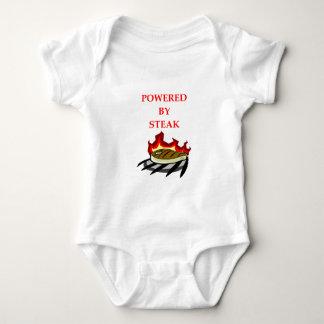 STEAK BABY BODYSUIT