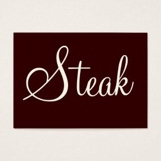 Steak Business Card
