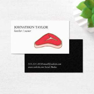 Steak Butcher Business Card