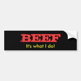 Steaks Bumper Sticker