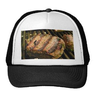 Steaks Food Dinner Grilling Hat