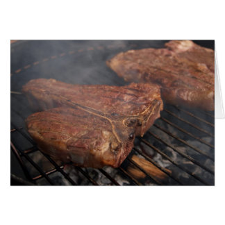 Steaks Grilling Barbecue Grills Meat Card