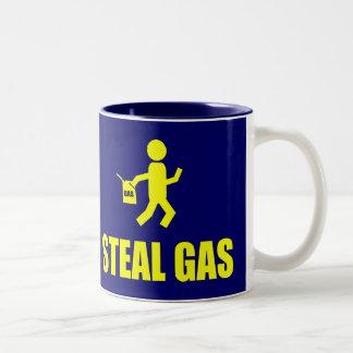 Steal Gas Two-Tone Coffee Mug