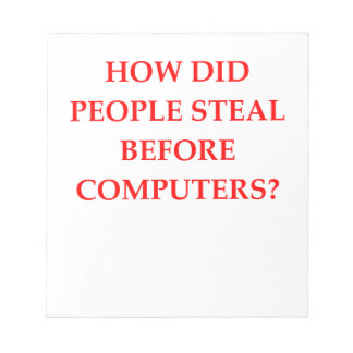 STEAL NOTEPAD