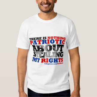 Stealing My Rights T Shirt