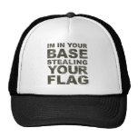 Stealing Your Flag - FPS, Game, Gamer, Video Games Trucker Hat