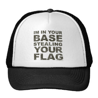 Stealing Your Flag - FPS, Game, Gamer, Video Games Trucker Hats